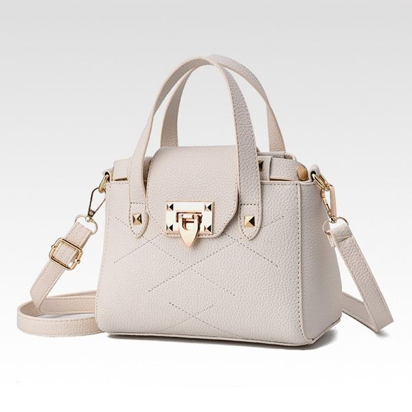 New women s wild handbag shoulder bag Korean version of the creative  high-quality Color  white 9dd6ab116387