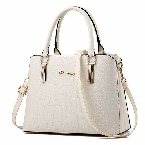 PU leather bag ladies Crocodile pattern Women messenger bags handbags woman e9b442b622de2